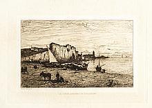 Adolphe APPIAN LE VIEUX CHÂTEAU DE COLLIOURE