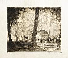 Adolphe BEAUFRÈRE LES HUTTES DES SABOTIERS