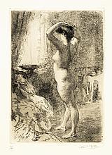 Armand BERTON LA COIFFURE ; LA PSYCHÉ