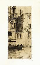 Jacques BEURDELEY CASA DI CAMELLO (VENISE)