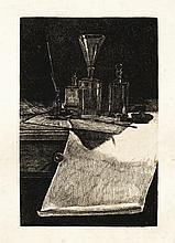 François BONVIN GRAVEUR, EFFET DE LAMPE