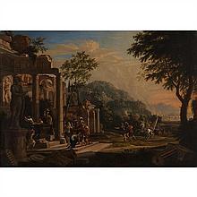 Attribué à Thomas BLANCHET(1614-1689)Scène de l'histoire antiqueToile62 × 90,5 cm