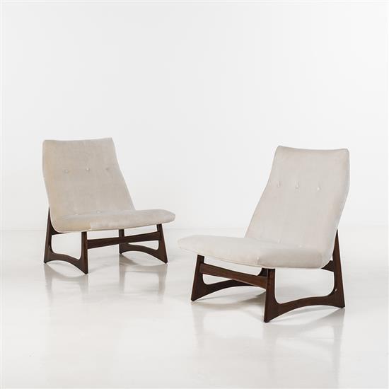 Adrian Pearsall (1925-2011)Paire de fauteuils