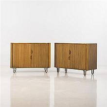 Edward Wormley (1907-1995)Paire de commodes