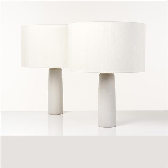 Gordon et Jane Martz (XXe)Paire de lampes