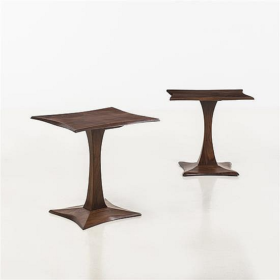 Robert Whitley (né en 1924)Paire de tables d'appoint