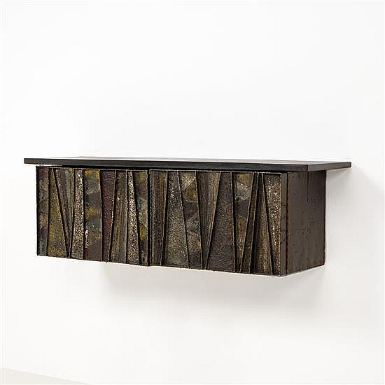 Paul Evans (1931-1987)Cabinet suspendu
