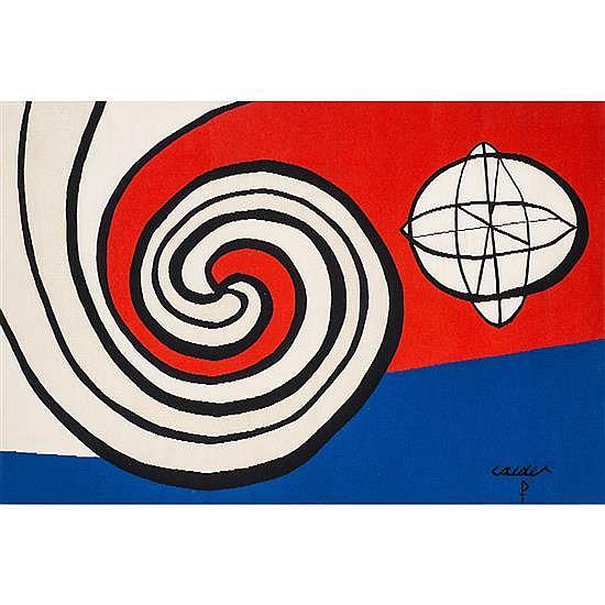 Alexander Calder (1898-1976)Tapis