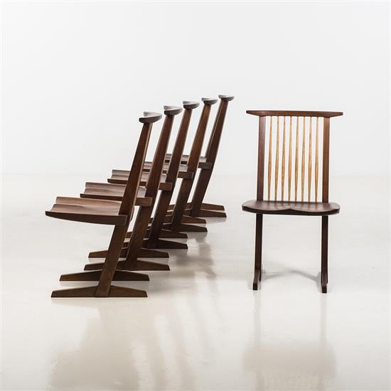 George Nakashima (1905-1990)Conoid Chair