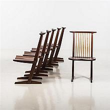 George Nakashima (1905-1990)Conoid Chair
