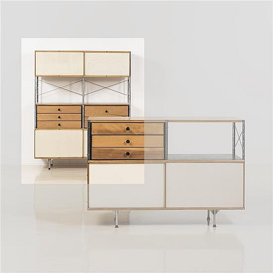 Charles (1907-1978) et Ray (1912-1988) EamesArmoire