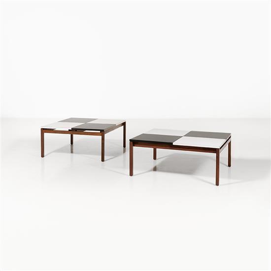 Louis Butler (XXe)Paire de tables basses