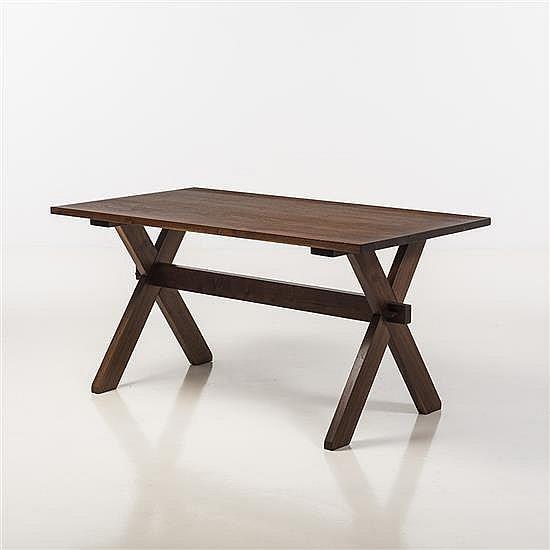 Rude Osolnik (1915-2001)Table de salle à manger