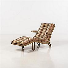 Edward Wormley (1907-1995)Chaise longue