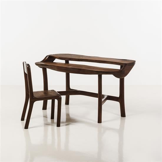 Ejner Pagh(né en 1950)Bureau et chaise