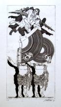"""VALERIANO TRUBBIANI (1937, Macerata) [Italia] """"Aria di primavera"""" 1970"""