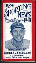 The Sporting News Record Book for 1940