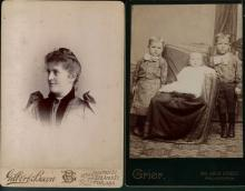 Lot of 9 Philadelphia Cabinet Photographs