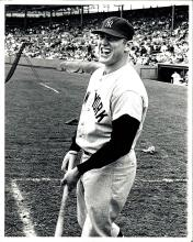 Original Type 1 Mickey Mantle Photograph from 1963