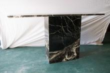 Grey Marble Console