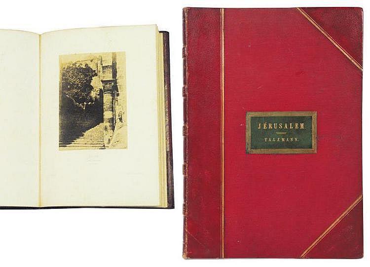 SALZMANN, Auguste (1824-1872) Jérusalem. Étude et reproduction photographique des monuments de la ville sainte depuis l'époque jud...