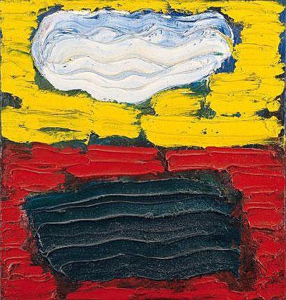 Thé Van Bergen (1946) Sans titre, 1989 Huile sur