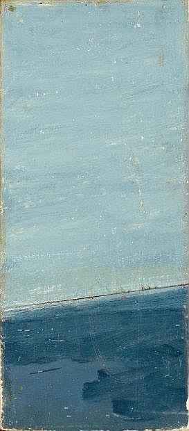PIERRE BURAGLIO (1939) autour de Nicolas de Staël,