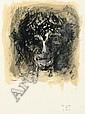 Karel Dierickx (1940) Le Christ, 2006 Crayon Conté