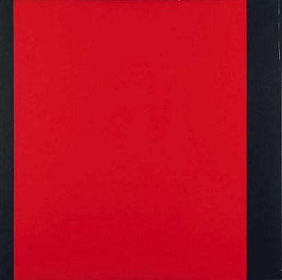 Amédée Cortier (1921-1976) Zwart-rood, 1971