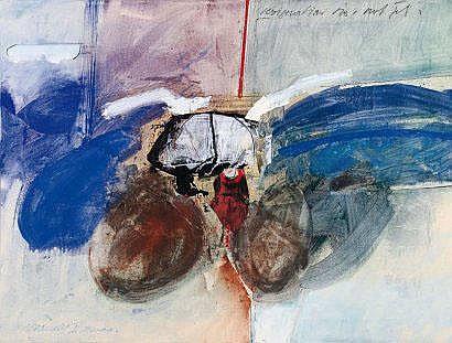 Robert Brandy (1946) Résignation, 2000 Acrylique