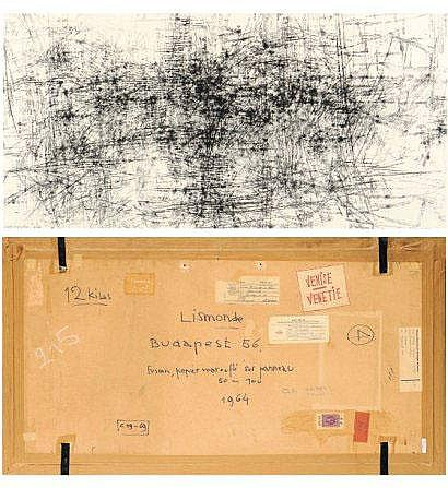 Jules Lismonde (1908-2001) Budapest 56, 1964