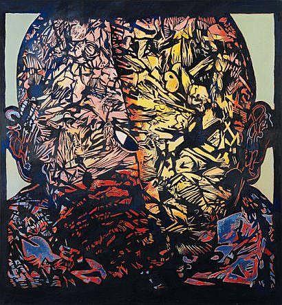 Yves Doaré (1943) Le despote, 2000 Acrylique sur