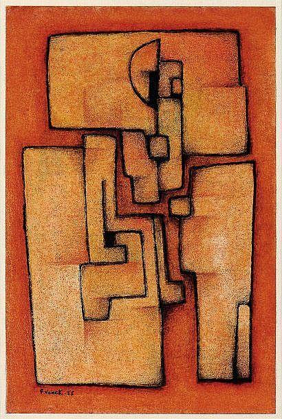Ferdinand Vonck (1921) Sans titre / Zonder titel,