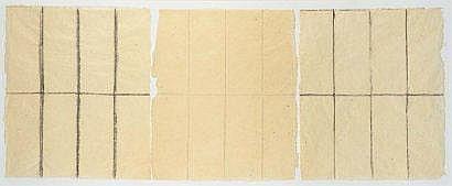 Dan Van Severen (1927-2009) Triptyque, 1981 Encre