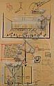 JEF GEYS (NE EN 1939) Sans titre 1985 Feutre et pastel sur papier. Signé et daté en bas à droite. H_ 117 cm L_74 cm, Jef (1939) Geys, Click for value