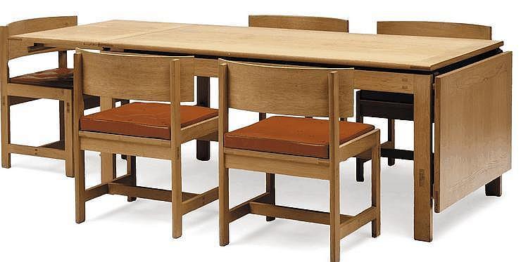 Ilse rix table de salle manger mod le n 9ch ne - Table salle a manger solde ...