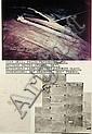 DENNIS OPPENHEIM (NÉ EN 1938) Star kid, project proposal for : Western United States, 1977 Photographies aériennes, carte typograp..., Dennis A Oppenheim, Click for value