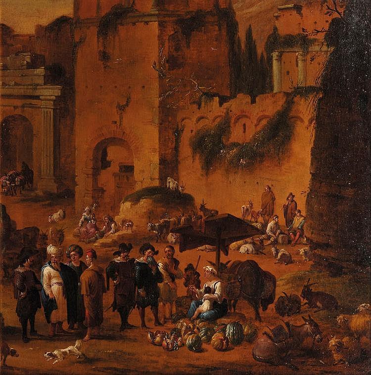 . Peeter van BREDAEL (Anvers 1629-1719) Scènes de