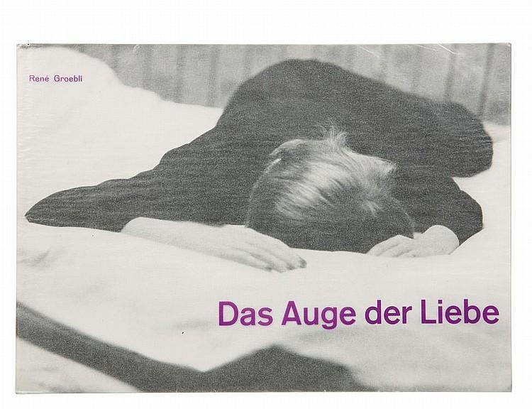 GROEBLI RENE (1927) Das Auge der Liebe Zürich : Turnus Verlag, 1954. In-4° (21 ,5 x 30 cm) 36 p. 25 photographies. Broché sous jaq...