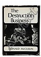 MCCULLIN DONALD (1935) Destruction Business London : Open Gate Books, 1971. In-8° (24,5 x 19 cm), Don McCullin, Click for value