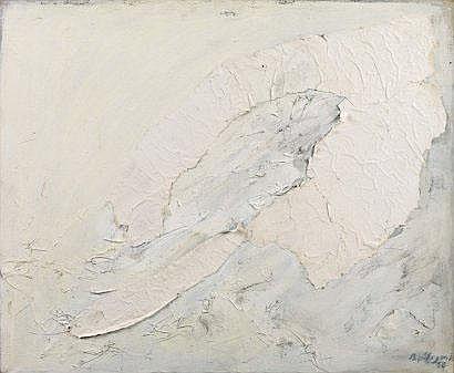 Claude Bellegarde (né en 1927) La vague de fond,