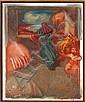 GERARD GAROUSTE (NÉ EN 1946) Sans titre, 1979 Huile sur toile. Signée en bas à gauche. H_65 cm L_55 cm, Gerard Garouste, Click for value