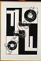 AMEDEE CORTIER (1921-1976) Labyrinthe de la vie et de la mort, 1964 Tempera sur papier Signée en bas à gauche Titrée et numérotée ..., Amédée Cortier, Click for value