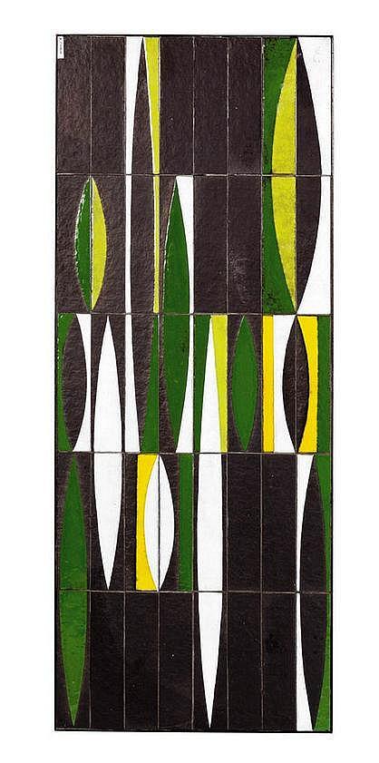 roger capron 1906 1983 table basse rectangulaire. Black Bedroom Furniture Sets. Home Design Ideas