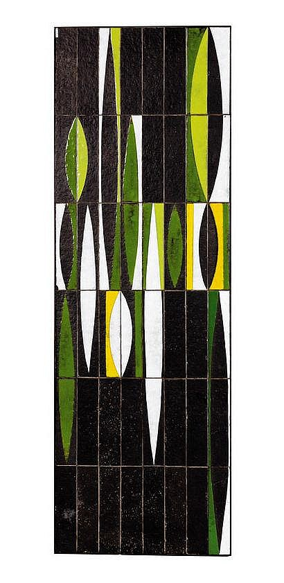 Roger Capron (1906-1983) Table basse rectangulaire