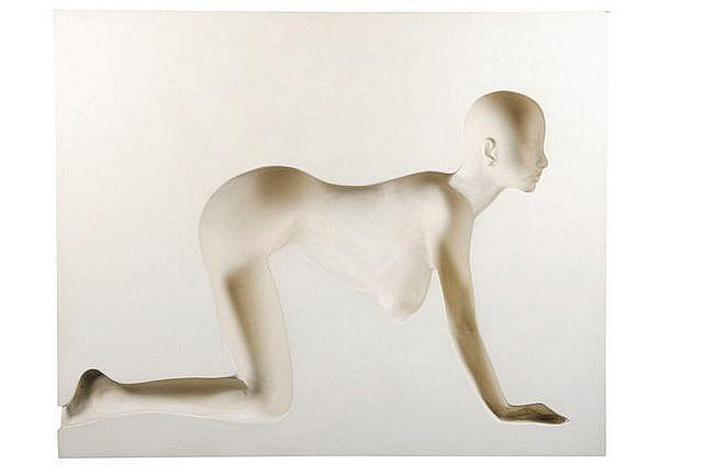 ROY ADZAK (1927-1988) Crawling girl, (Variation A)
