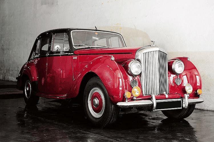 Bentley type R 1953 Châssis : n° B 286 YD • Bel