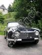Triumph TR4 A IRS 1966 Châssis : n° 1CTC752961 •