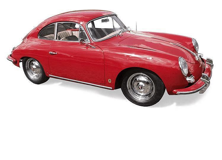 Porsche 356 B super 90 1960 Châssis : n° 111214 •