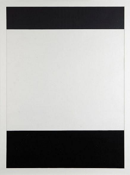 Amédée Cortier (1921-1976) Grijs-wit-Zwart, 1970